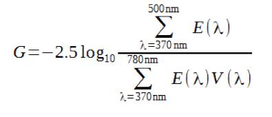 Índice Espectral G 3
