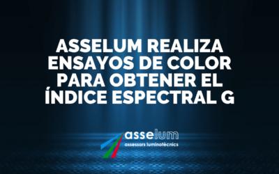 Asselum realiza Ensayos de Color para obtener el Índice Espectral G