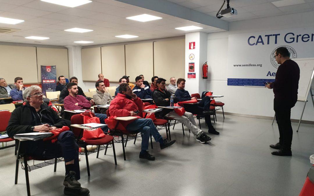 ASSELUM participó en la Formación Para Instaladores Eléctricos organizada por ROBLAN Y AEMIFESA.