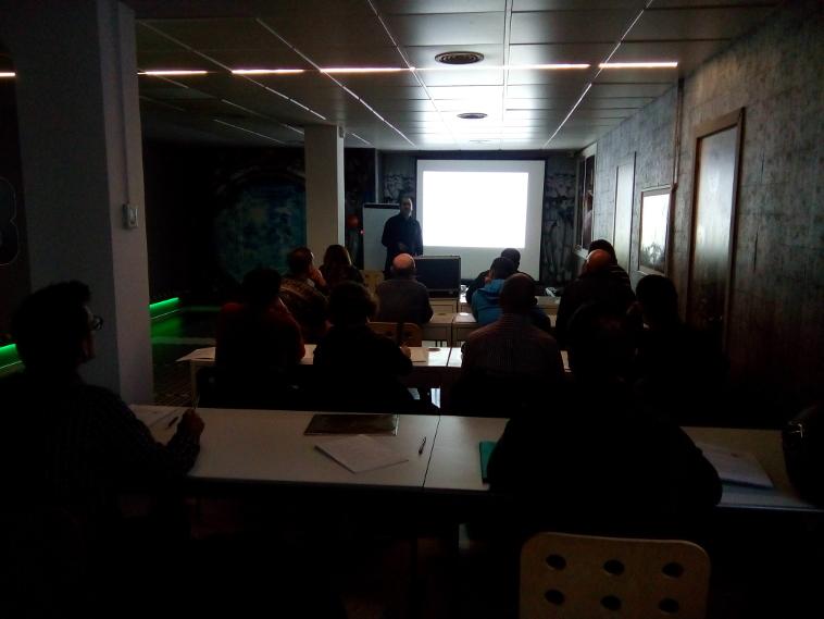 Éxito de participación en el primer módulo del curso de CICAT y Barcelona Activa sobre conceptos básicos de luminotecnia