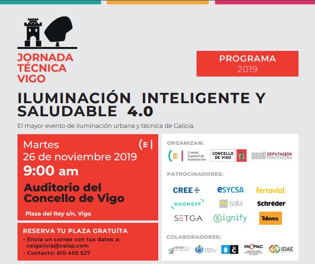 ASSELUM participa en la Jornada de Iluminación en Vigo organizada por el CEI