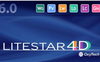 Novedades y mejoras de la nueva versión LITESTAR 4D 6.02.001 de Oxytech