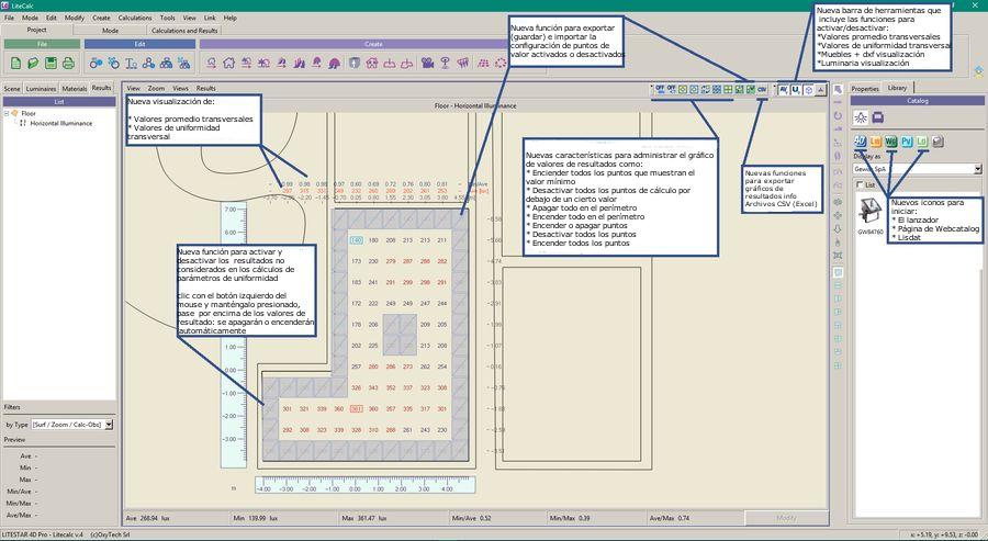 LTS4D Lc - Nuevas funciones para administrar los resultados del cálculo