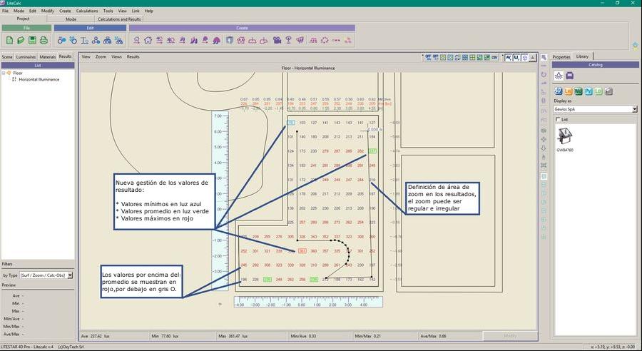 LTS4D Lc - Nueva función de zoom en los resultados