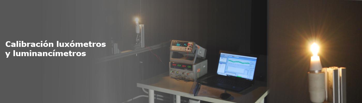 Calibración de luxómetros y luminancímetros