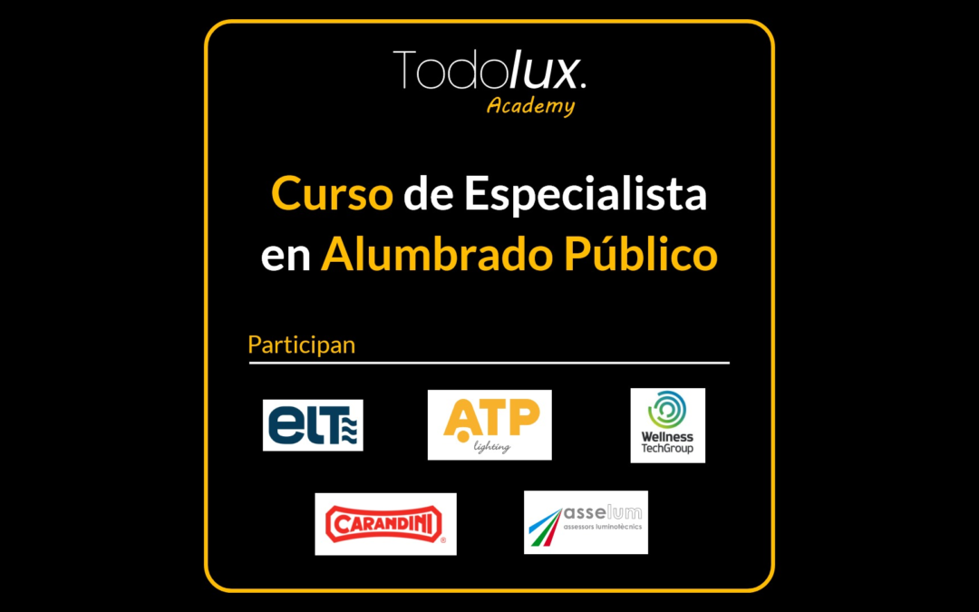 Asselum como empresa colaboradora en el Curso de Especialista en Alumbrado Público